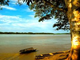 Un Peke Peke sul fiume Marañon