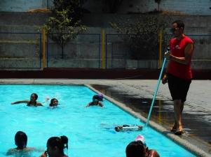 Esercizi in piscina
