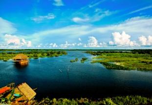 Vista dal Boulevard di Iquitos