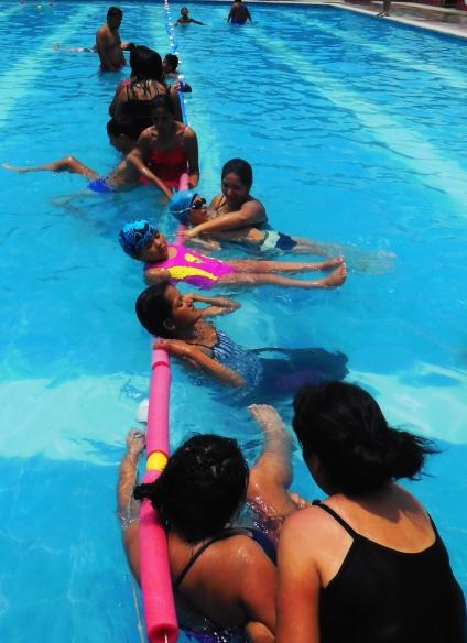 Esercizi di galleggiamento